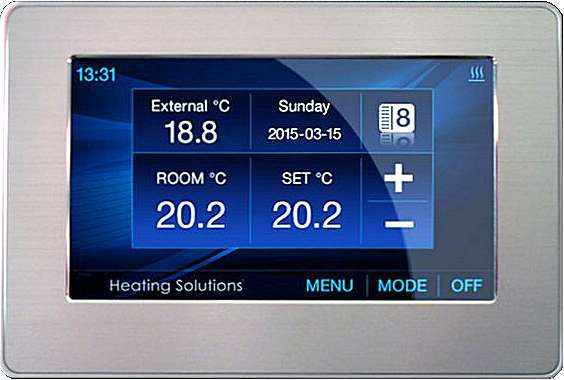UTR-309 Underfloor heating thermostat digital