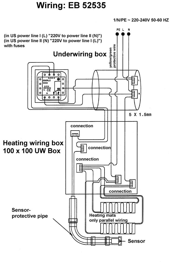 Contactor Wiring Diagram Heater : Underfloor heating contactor wiring diagram