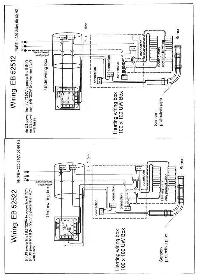 montageen24 the low cost underfloor undertile heating systems in the bathroom eberle thermostat wiring diagram at crackthecode.co